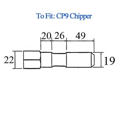 CP9 Bolster Chisel